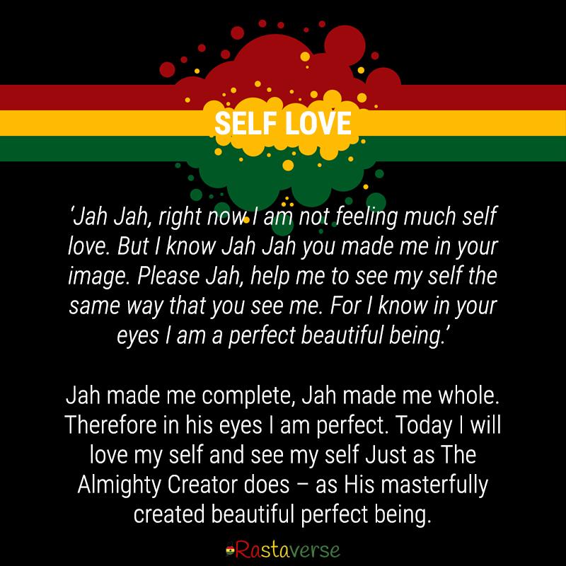 Self Love. RastaPrayer_5_Rastaverse